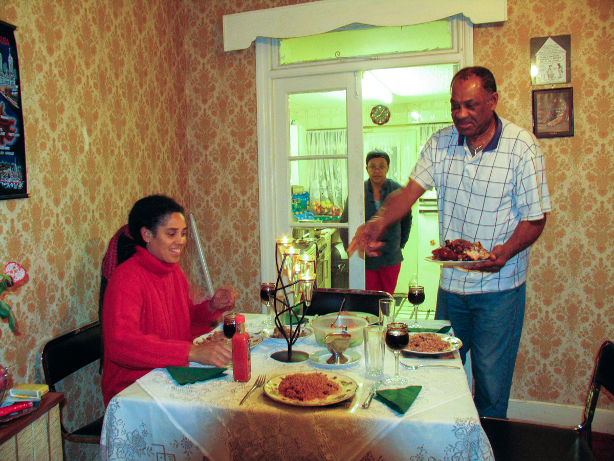 A visit at Carden´s flat in Harringay, London 200