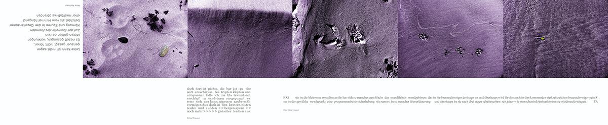 05_lesezeichen, Sand, Menschenspuren