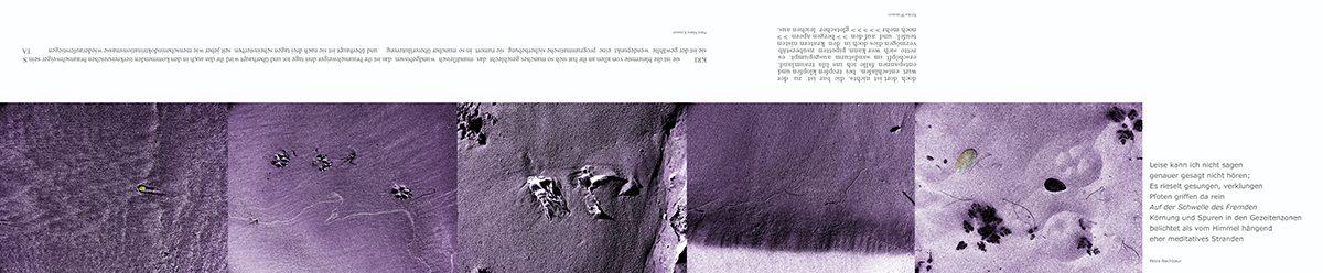 06_Lesezeichen, Sand, Spuren B