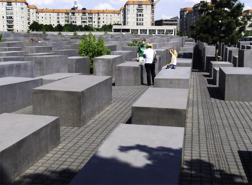 2008, Berlin, Denkmal für die ermordeten Juden Europas