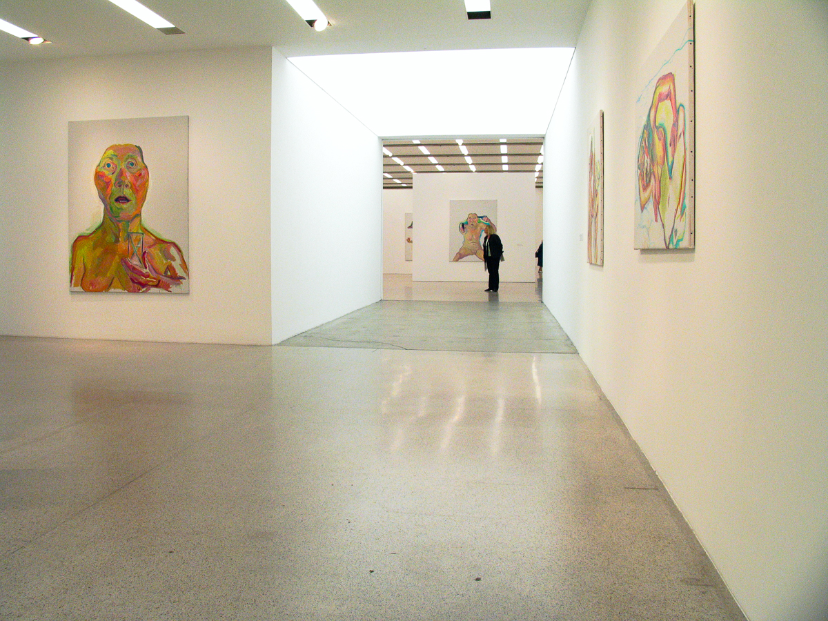 2009_mumok, Wien, Maria Lassnig