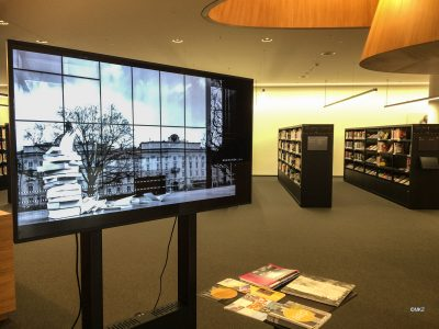 Seitenwind Bildershow in der Innsbrucker Stadtbibliotheke