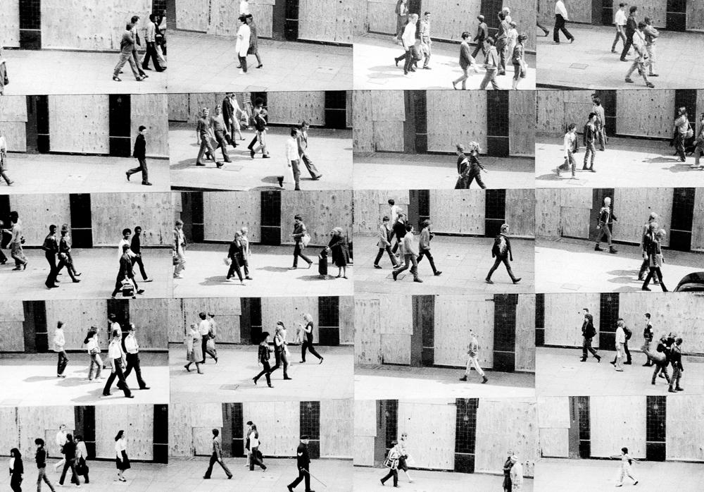 Kings Road vor Demo, London 1982