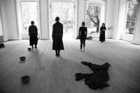 Dunkler Ton, Performance Judith Klemenc, Gabi Plattnerr