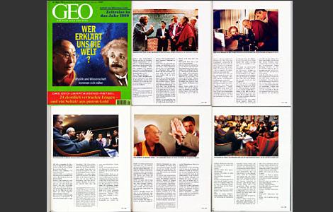 GEO 1999-Wissenschafter mit Anton Zeilinger