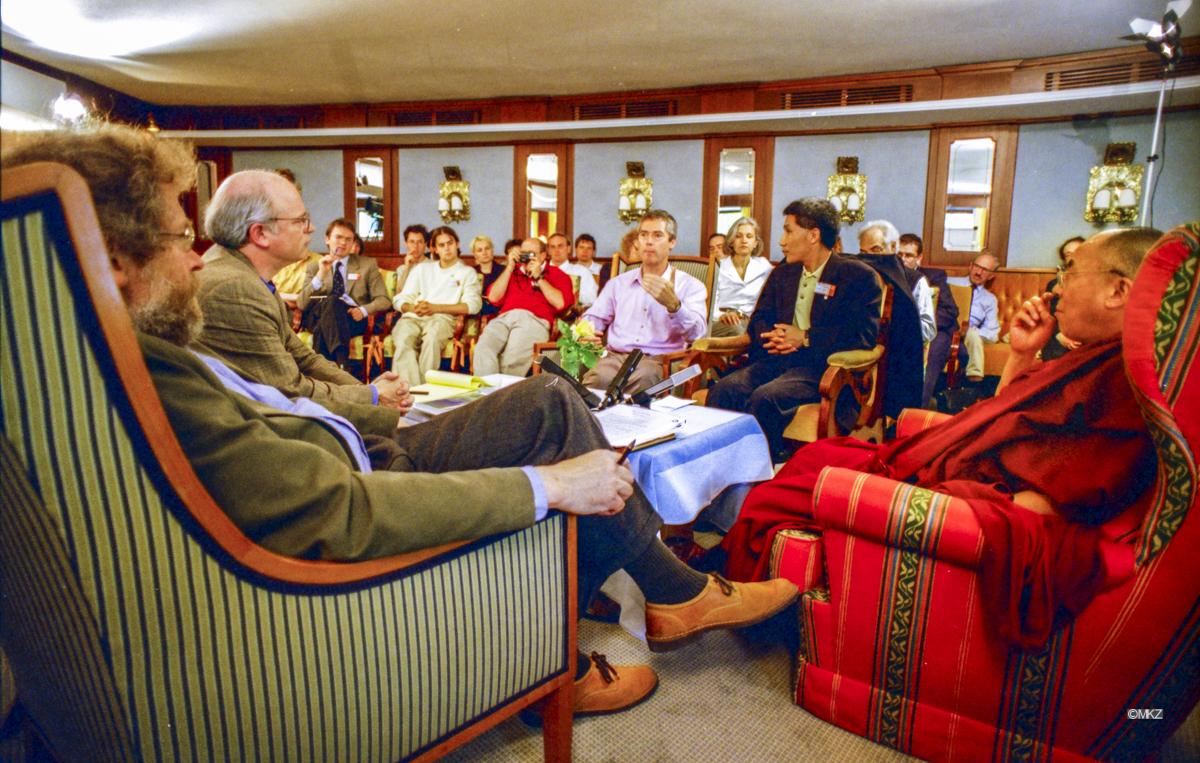 S.H. Dalai Lama Tenzin Gyatso, Anton Zeilinger